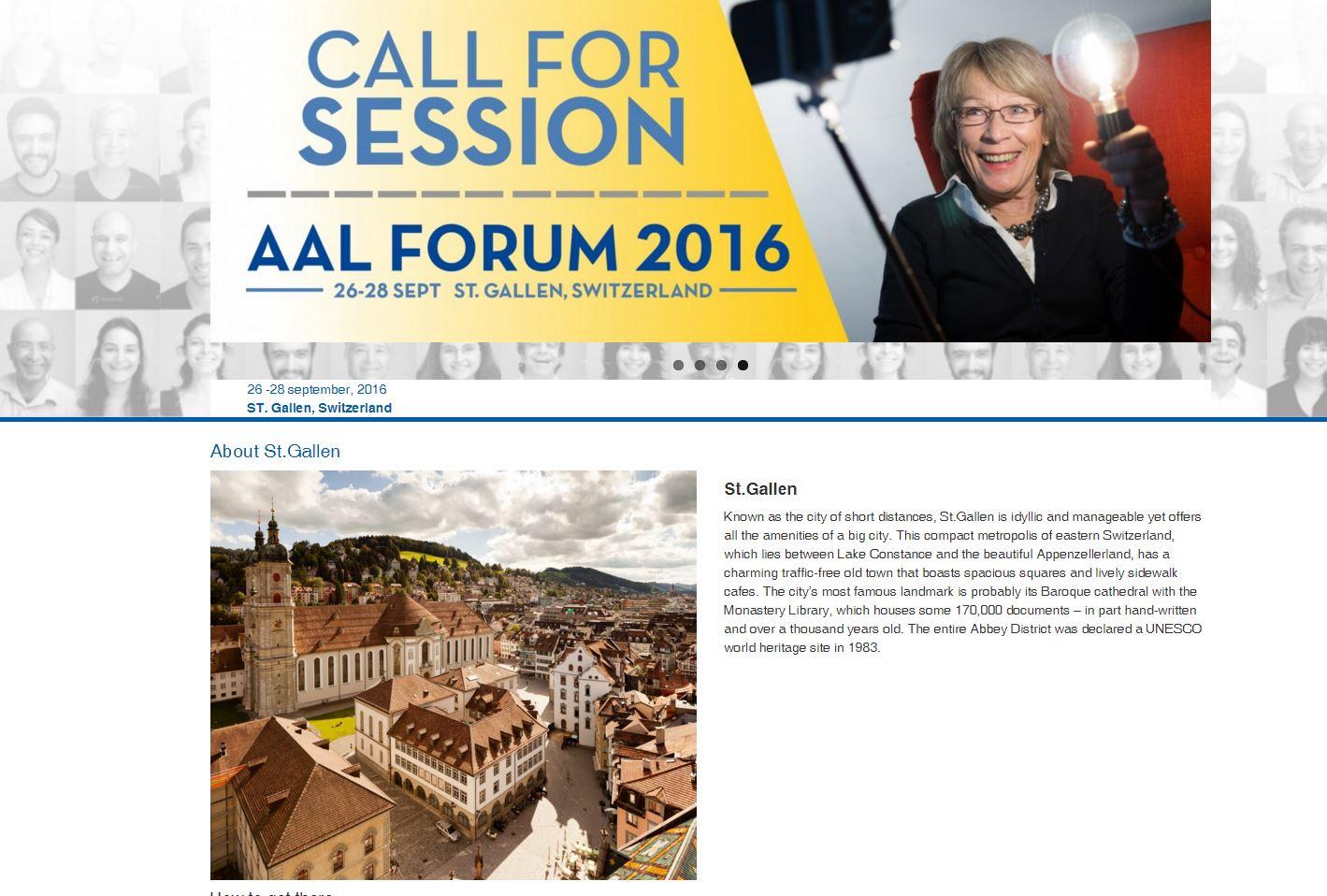AALForum 2016 2