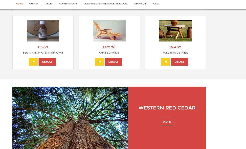 Bearchair webshop 1
