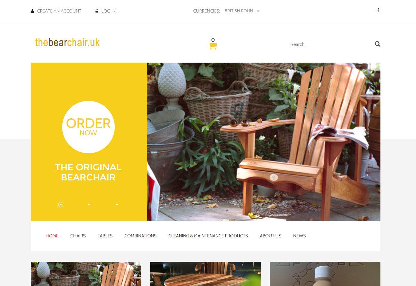 Bearchair webshop 0