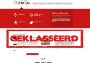 sinergio vorige website