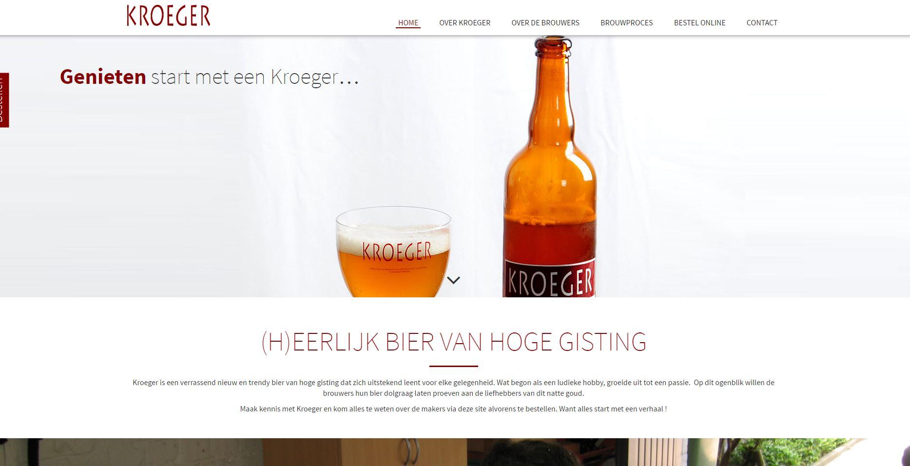 Kroeger bier 0