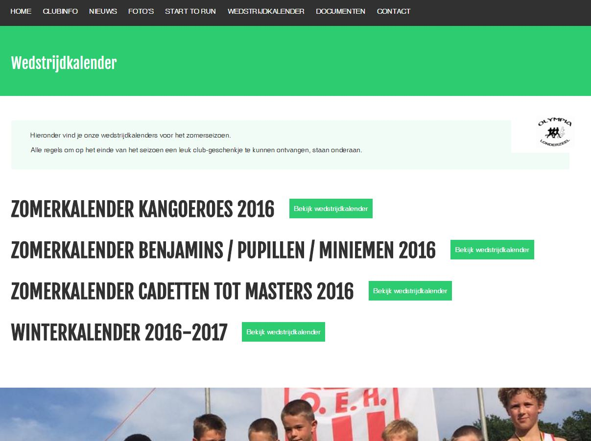 Sportief online bij Olympia Londerzeel 1