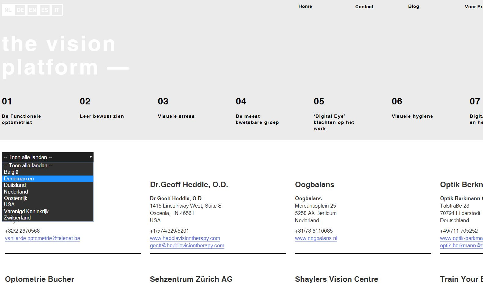The vision platform 3