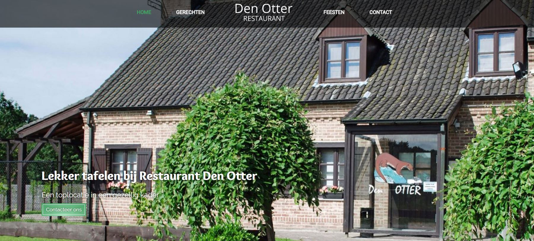 Restaurant Den Otter in Hamme online