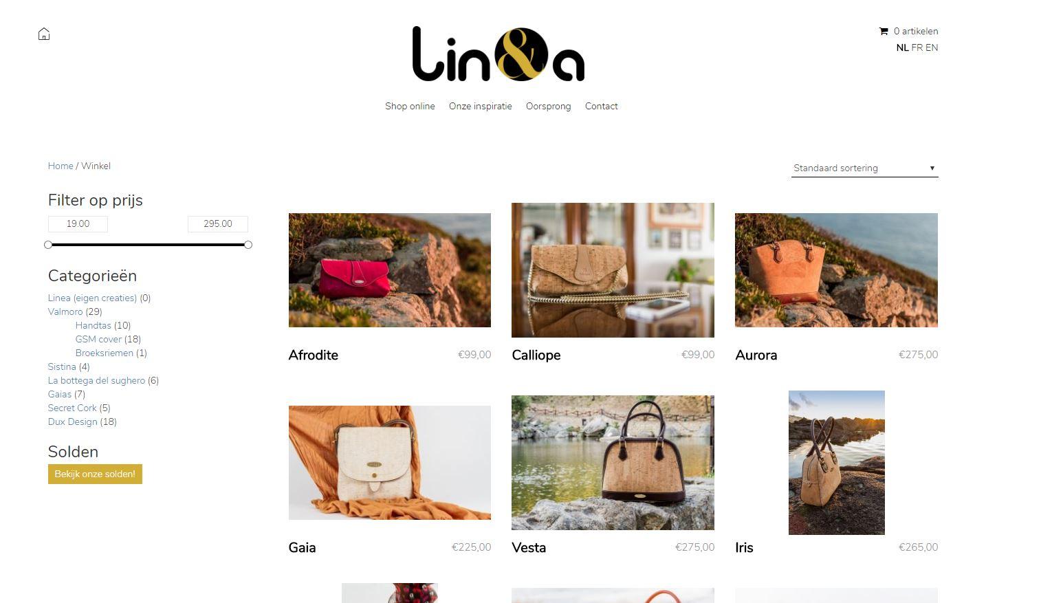Linea shop online 1
