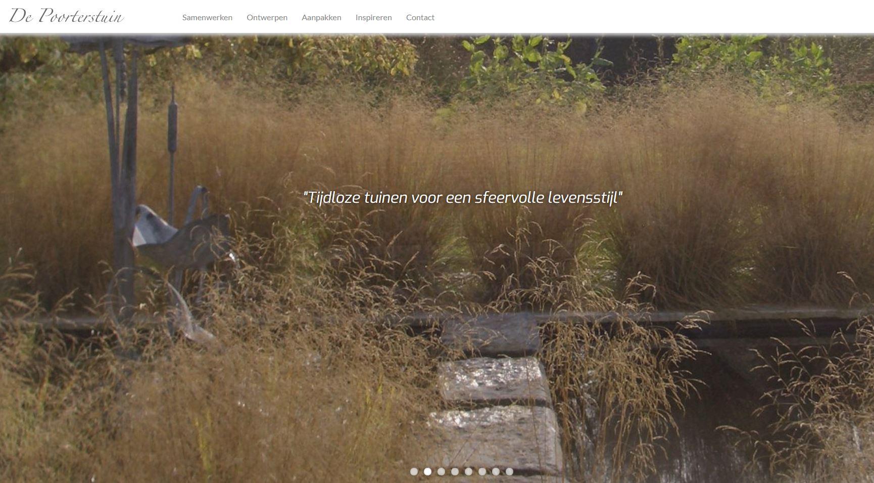 de poorterstuin in Buggenhout