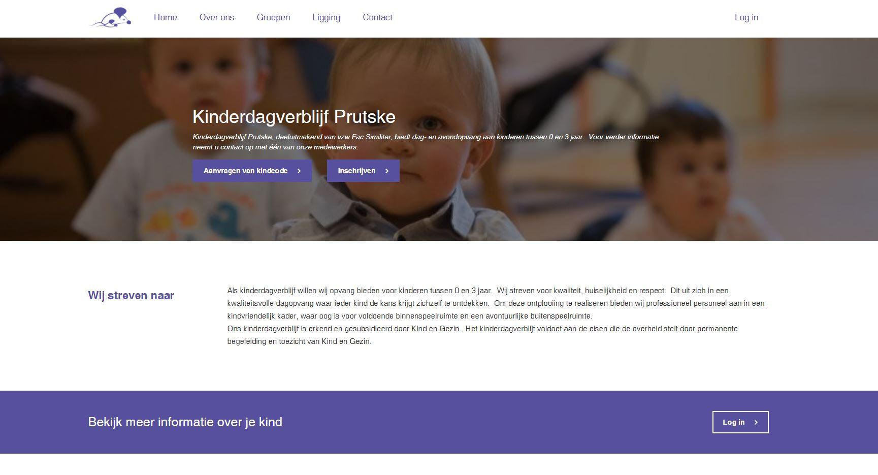kinderdagverblijf Prutske in Ukkel