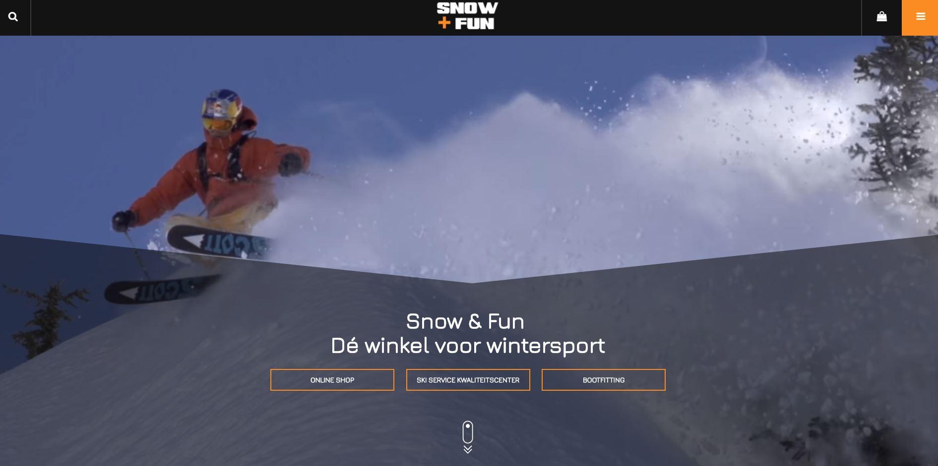 snow & fun webshop ski materiaal