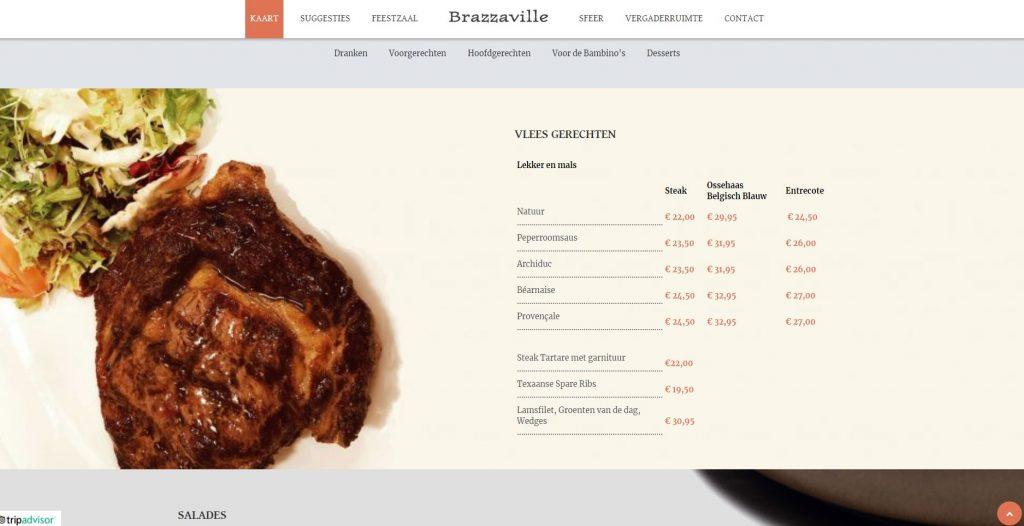 brazzaville wolvertem restaurant