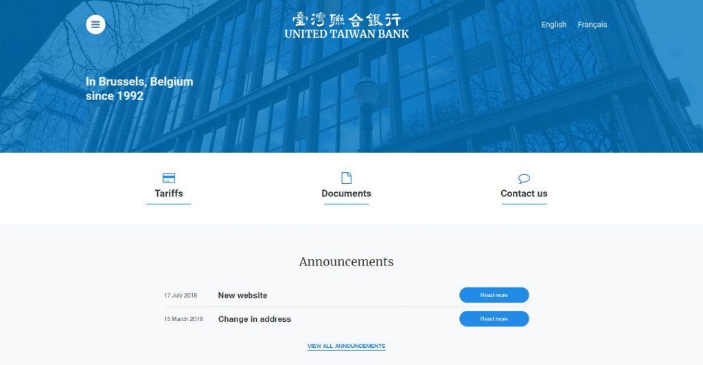 united taiwan bank UTB bank