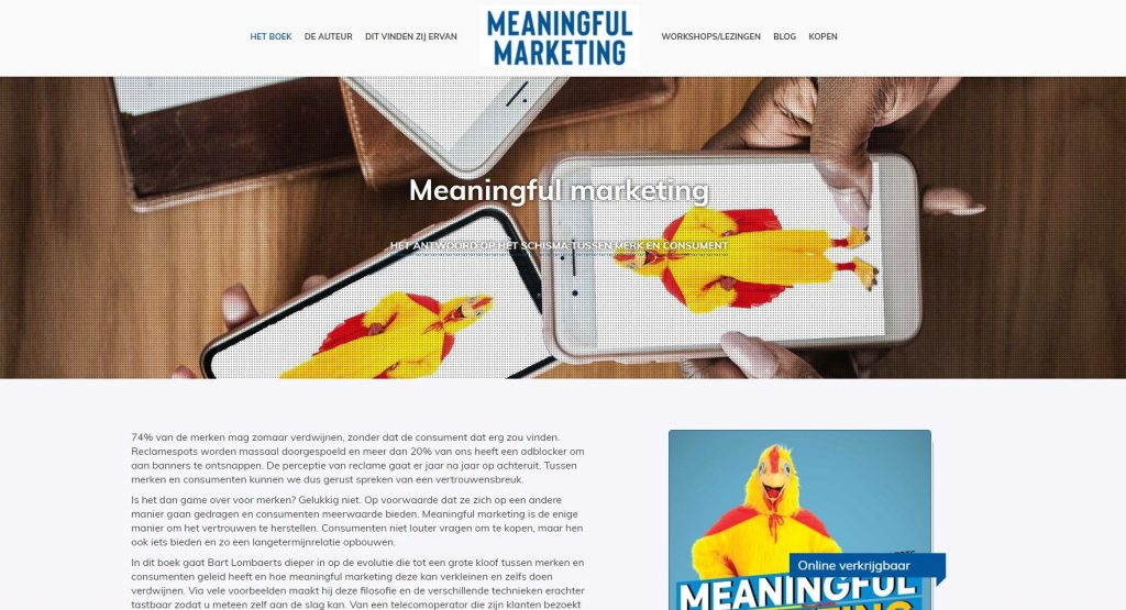 meaningful marketing bart lombaerts
