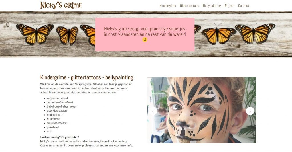 nicky's grime website
