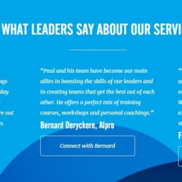 Webdesign inspiringleadership website stuk